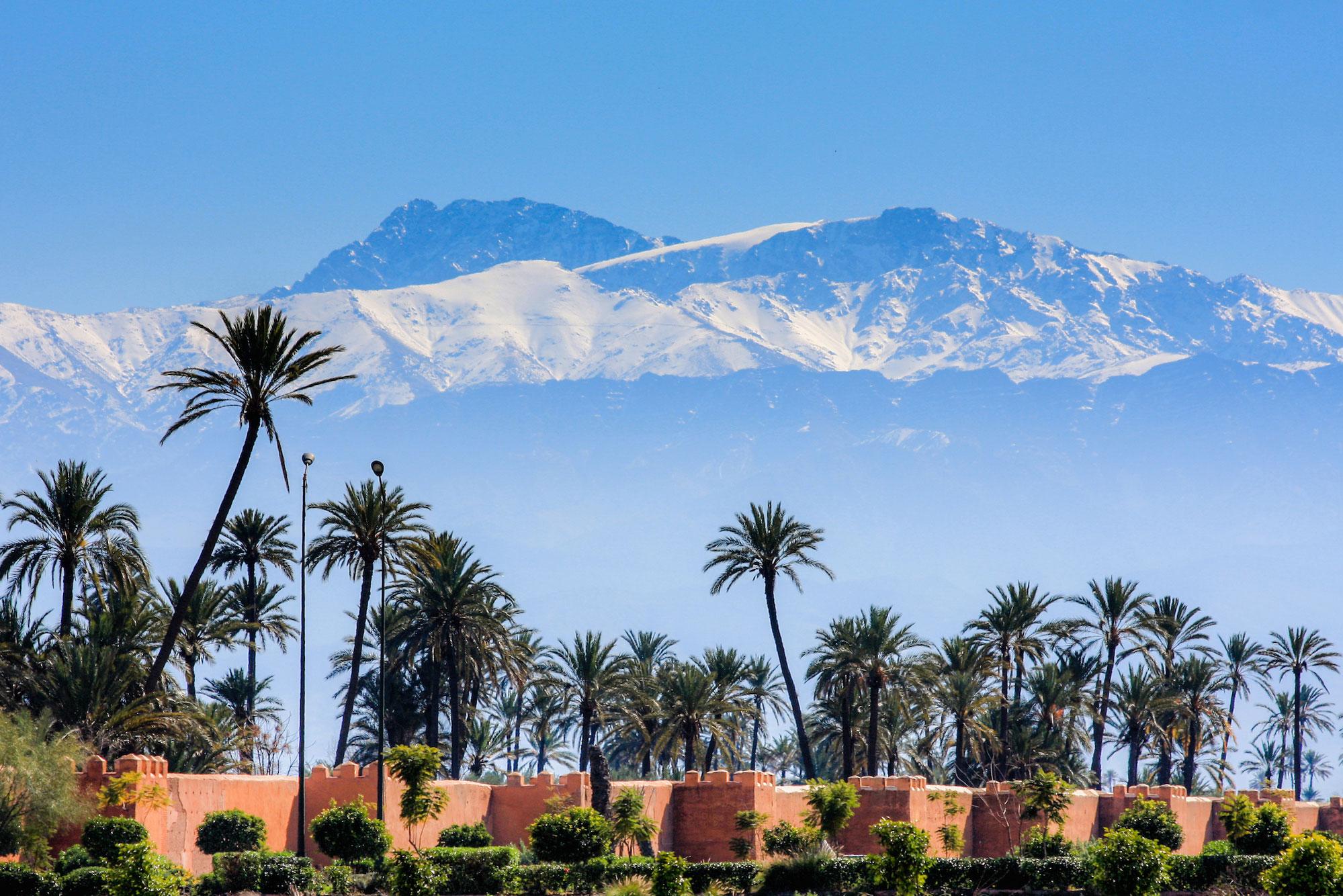 Климатические условия в Марокко