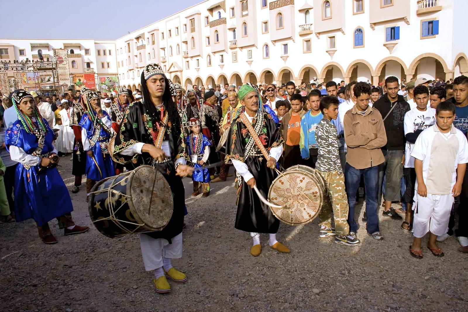 Период фестивалей в Марокко