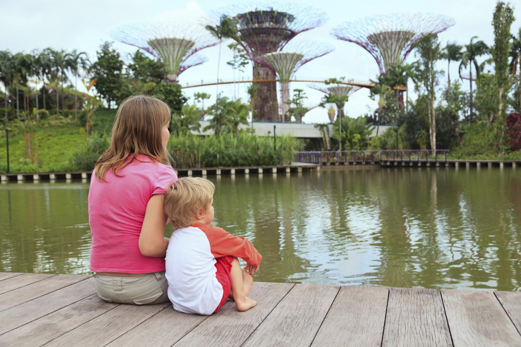 Путешествие с ребенком в Сингапур