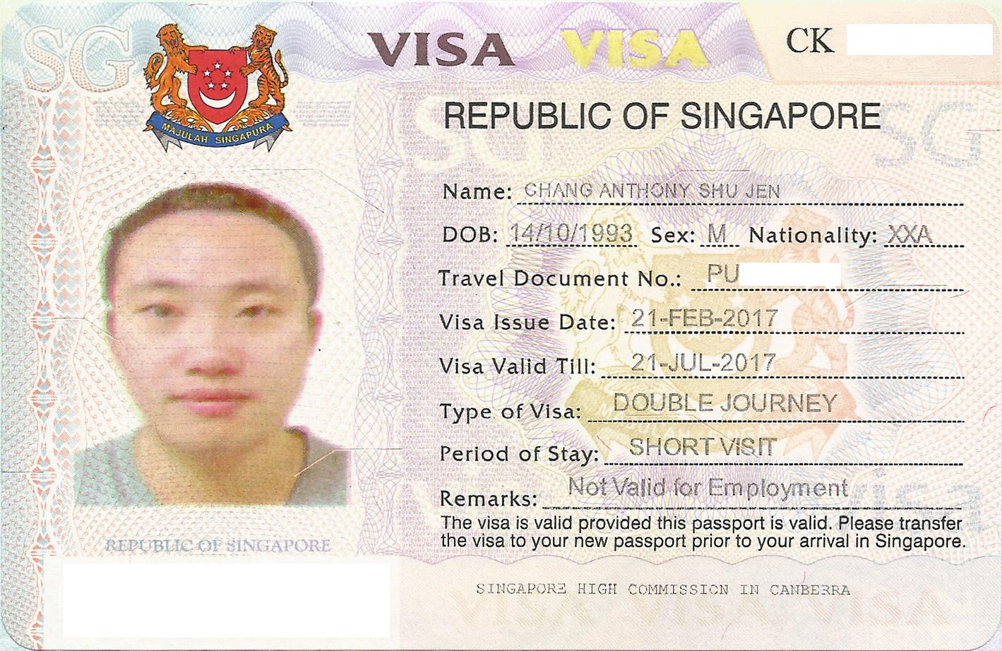 Нюансы получения рабочей визы в Сингапур