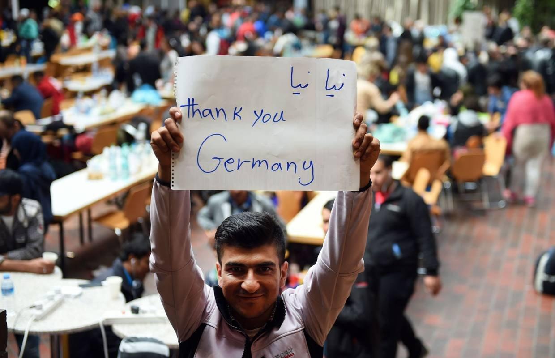Беженцы, приехавшие в Германию