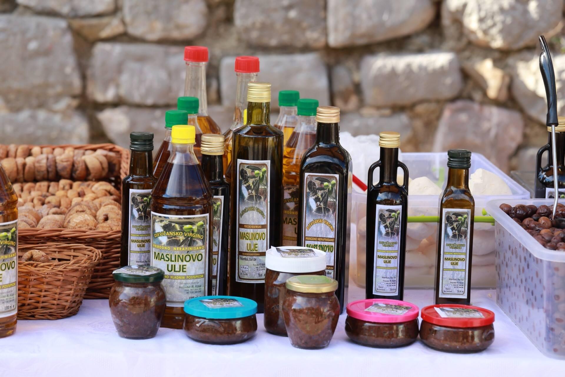 Оливковое масло Черногории