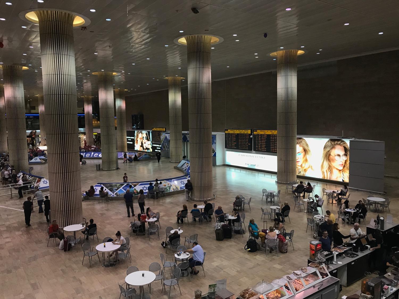 Фото аэропорта Бен-Гурион в Израиле