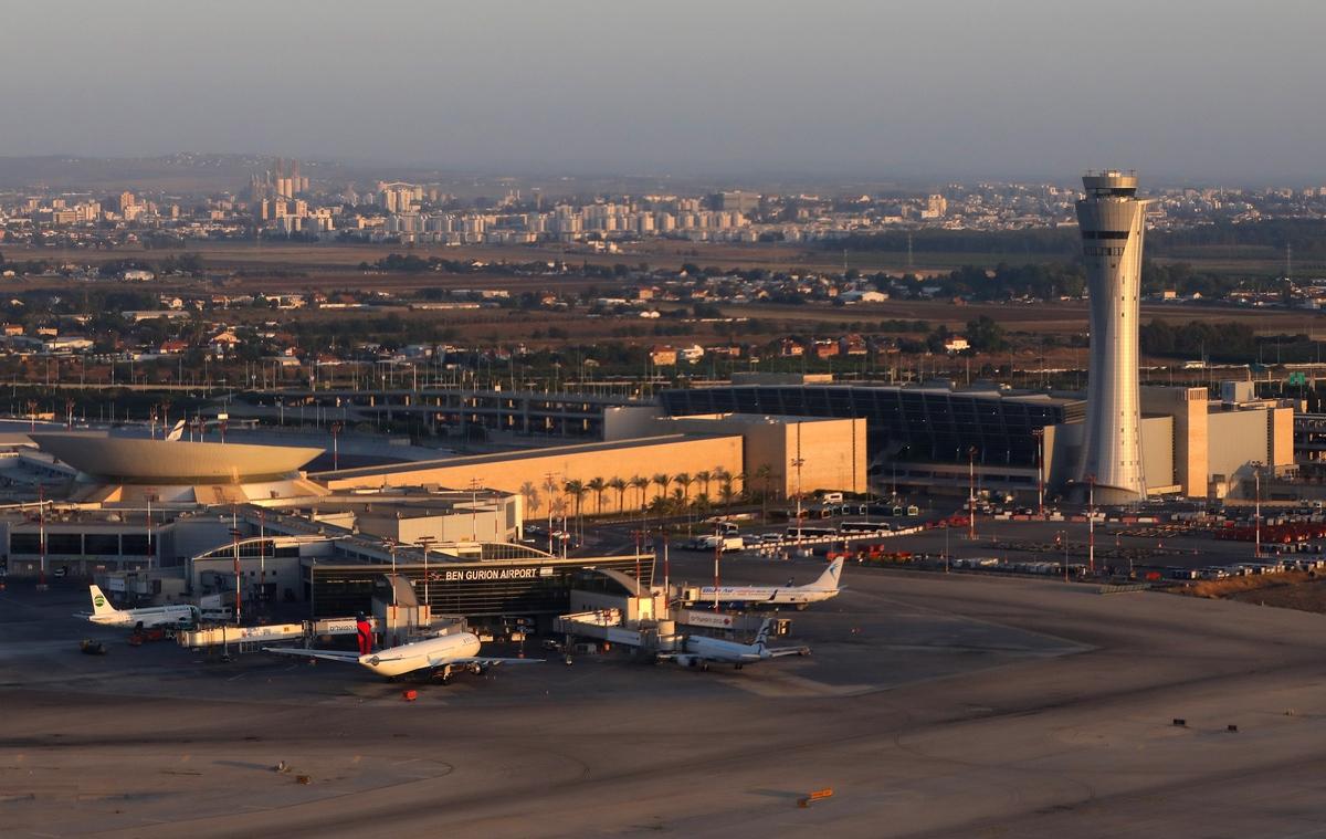 Фото аэропорта в в Тель-Авиве