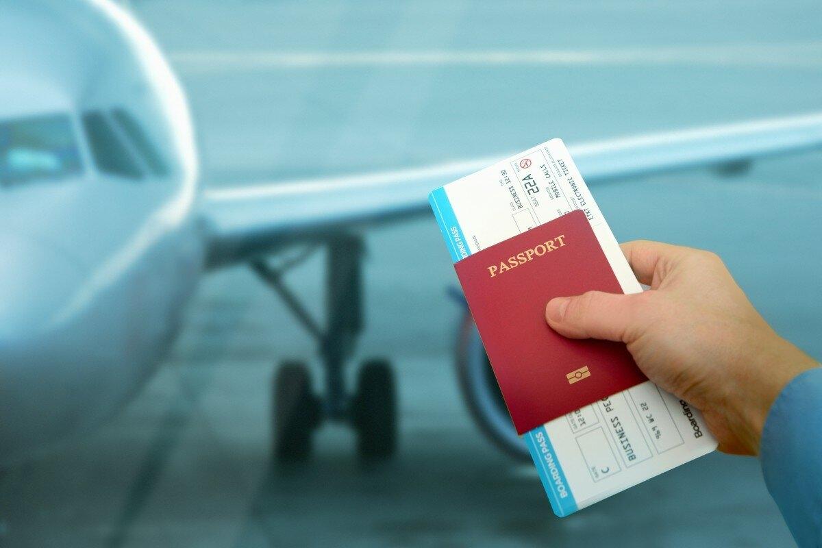 Фото билетов в Израиль
