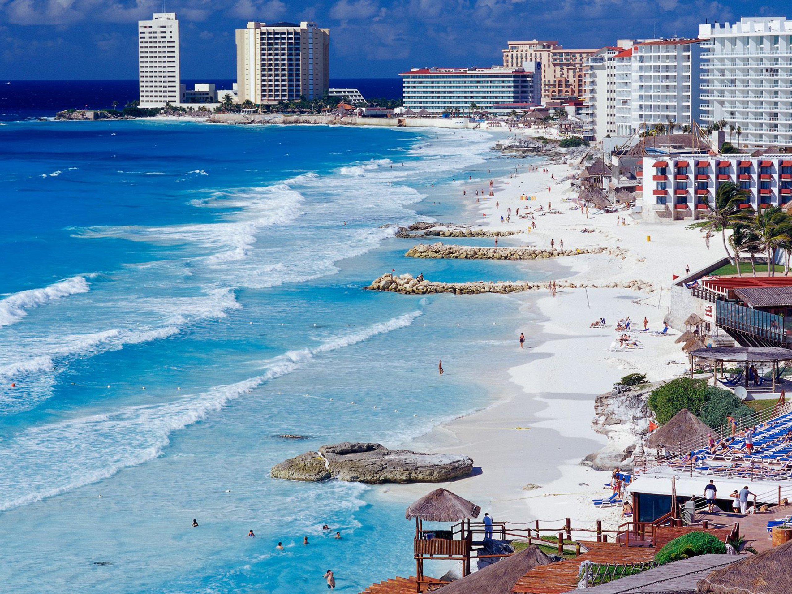 Фото морского берега в Мексике