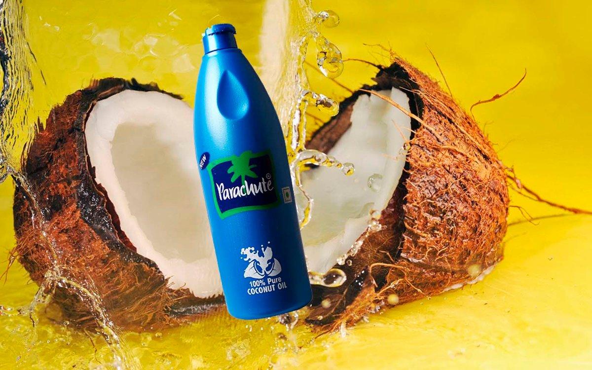 Фото бутылочки с кокосовым маслом