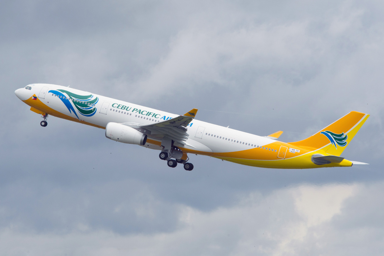 Фото авиакомпании Cebu Pacific