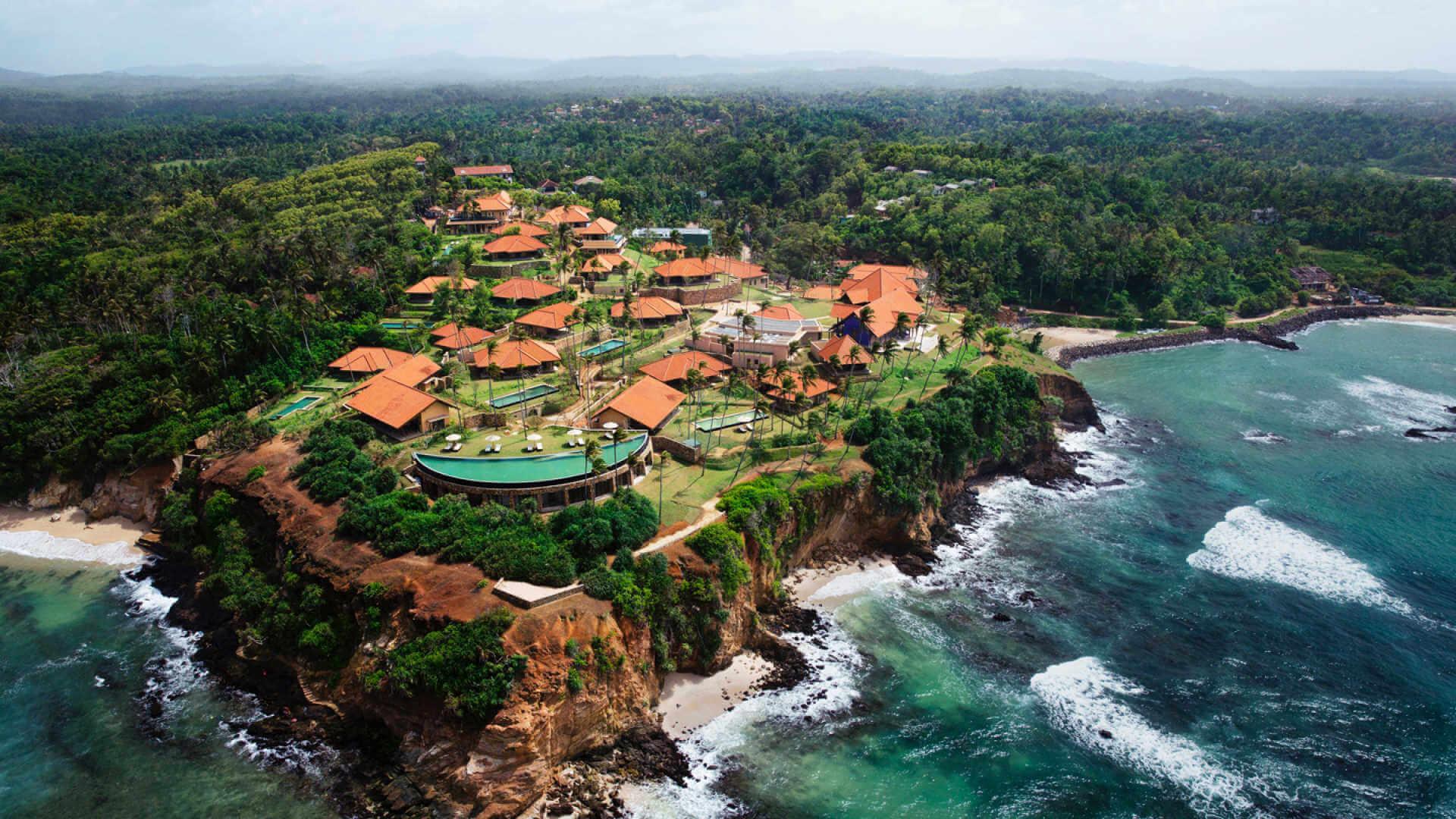 Фото берега Шри-Ланки