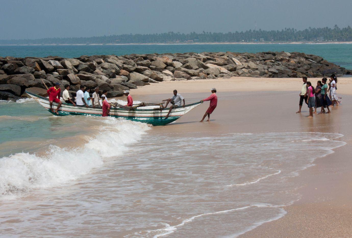 Фото пляжа на Шри-Ланке