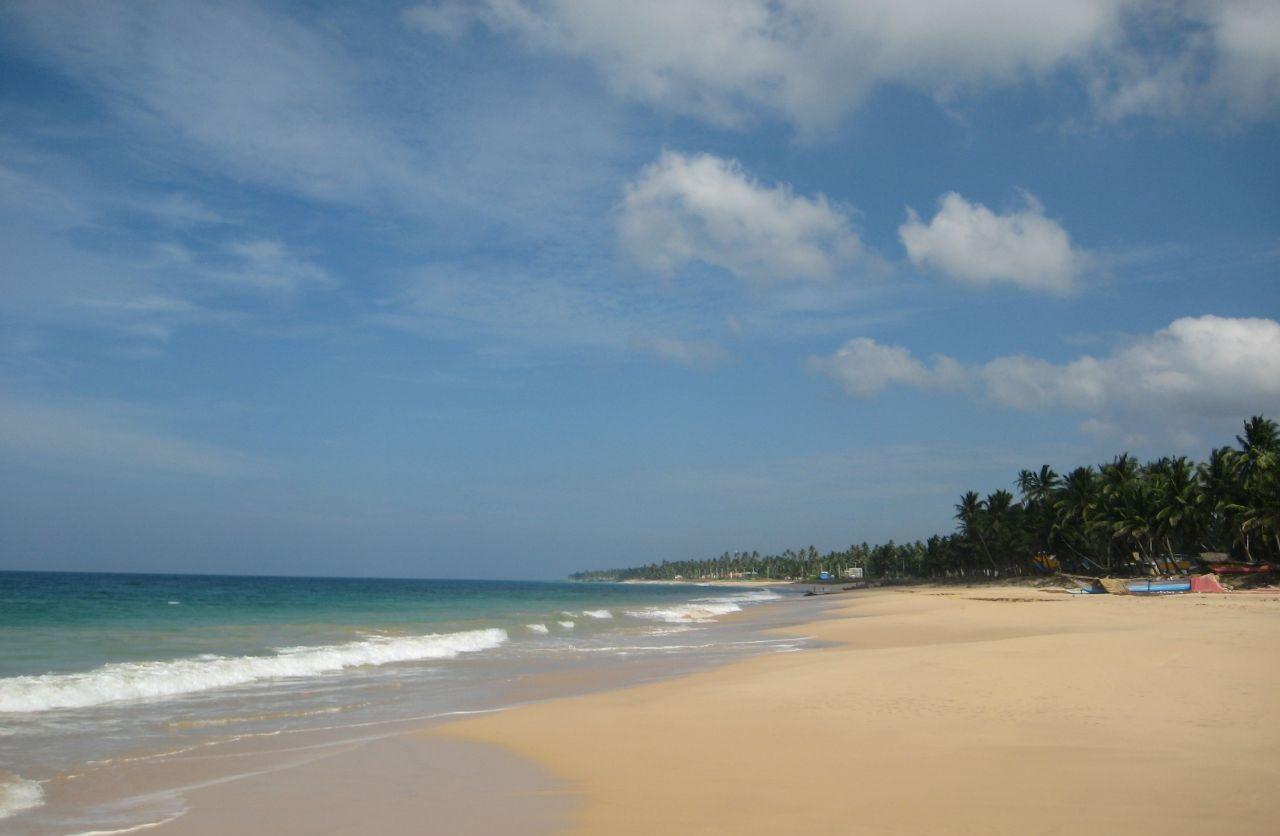 Фото моря возле Шри-Ланки