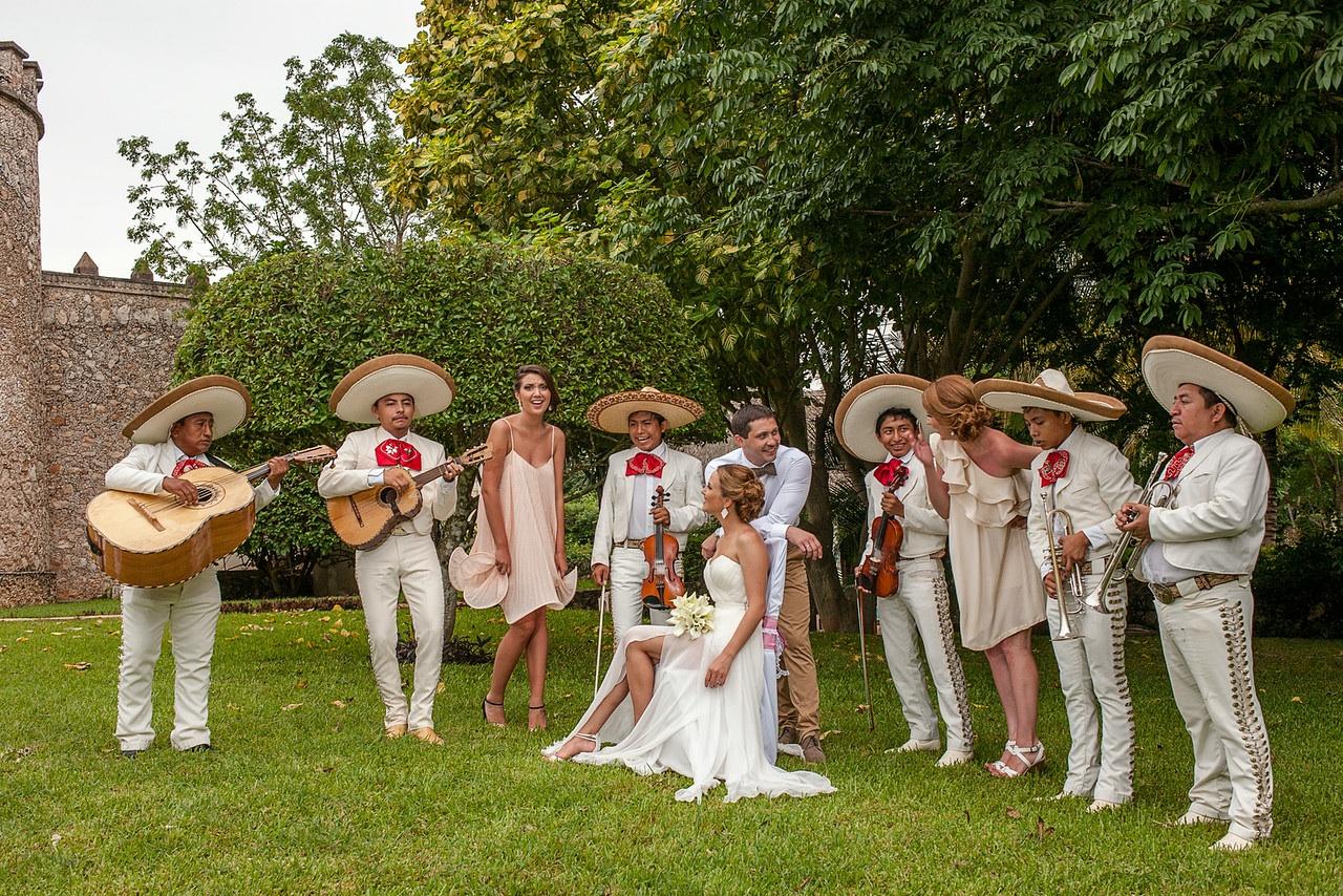 Фото свадьбы в Мексике