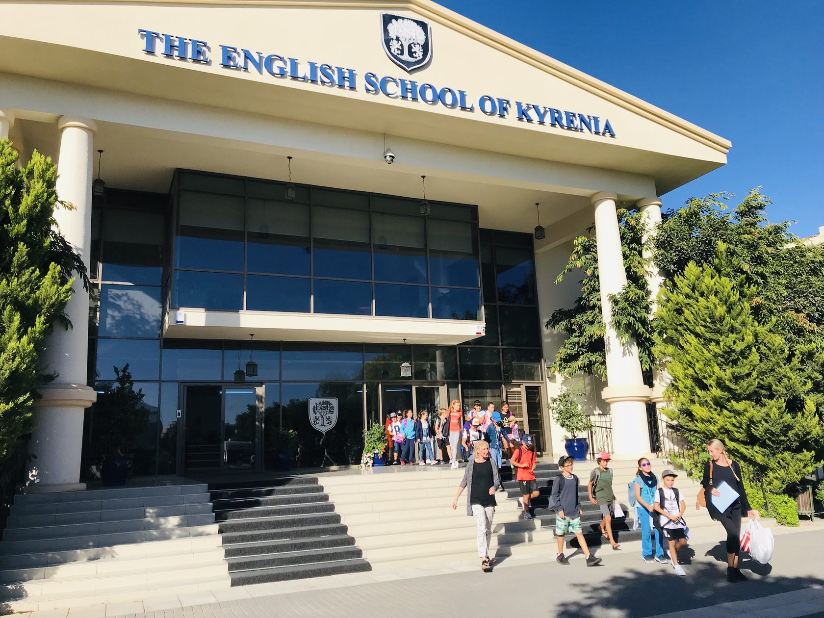 Фото школы на Кипре