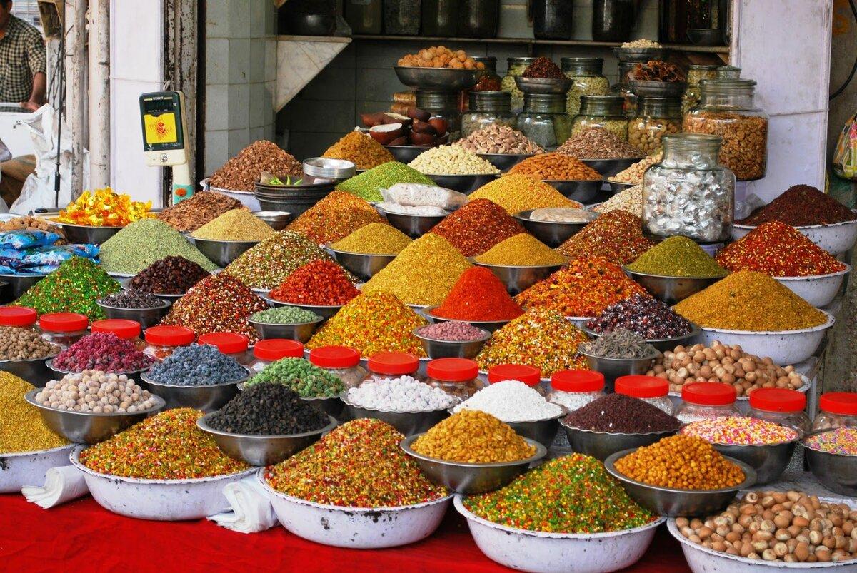 Фото специй на рынке