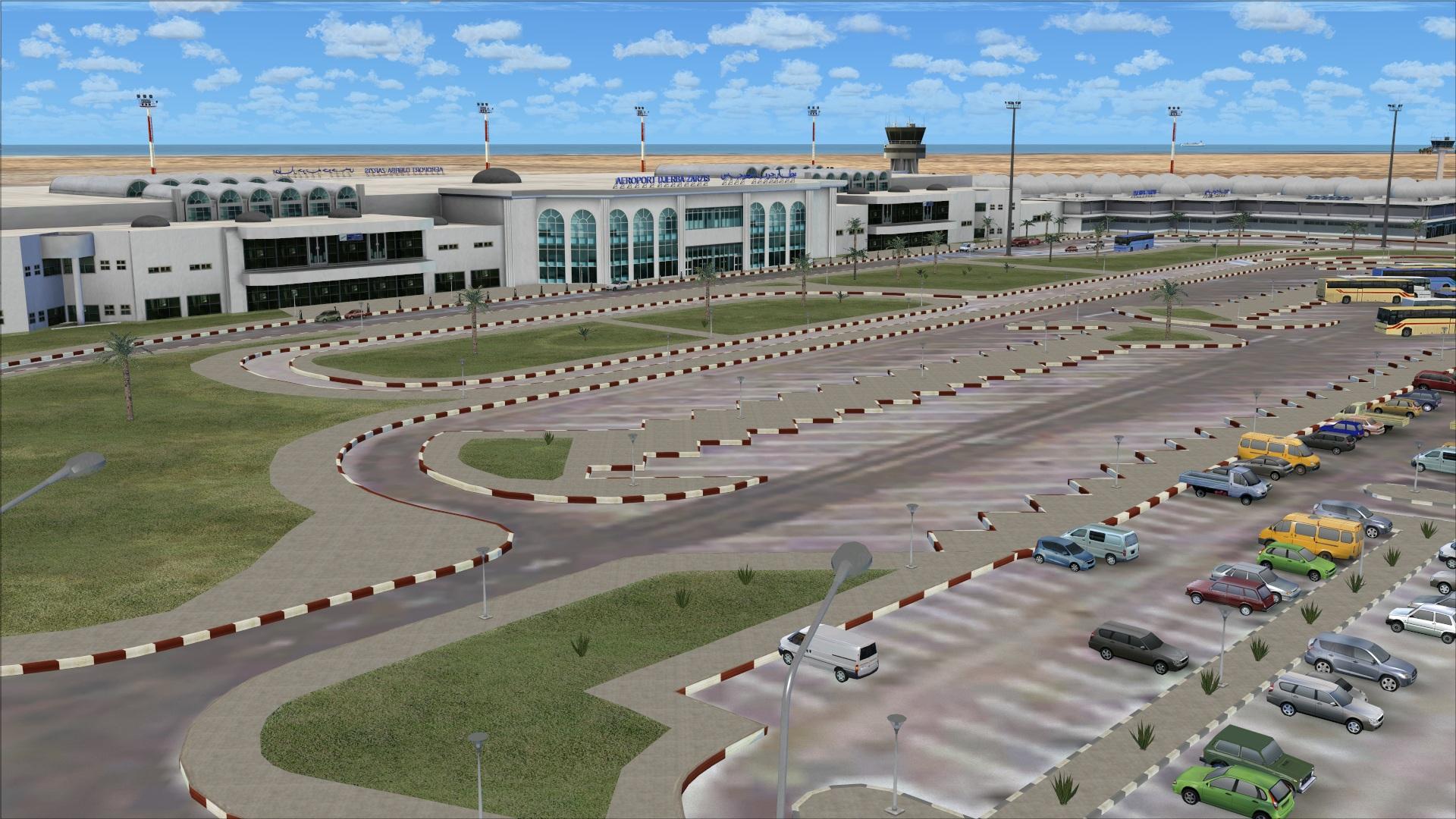 Фото аэропорта в Джербе