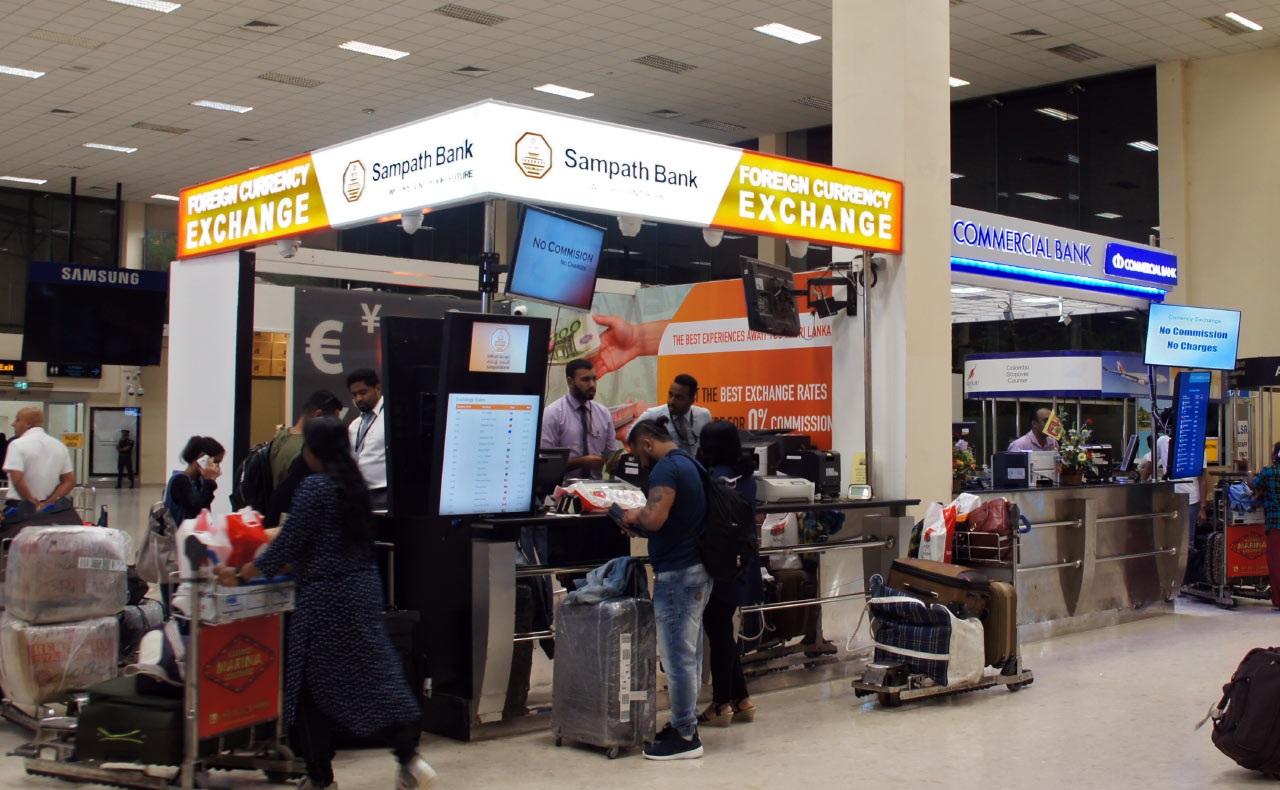 Фото обменного пункта в аэропорту