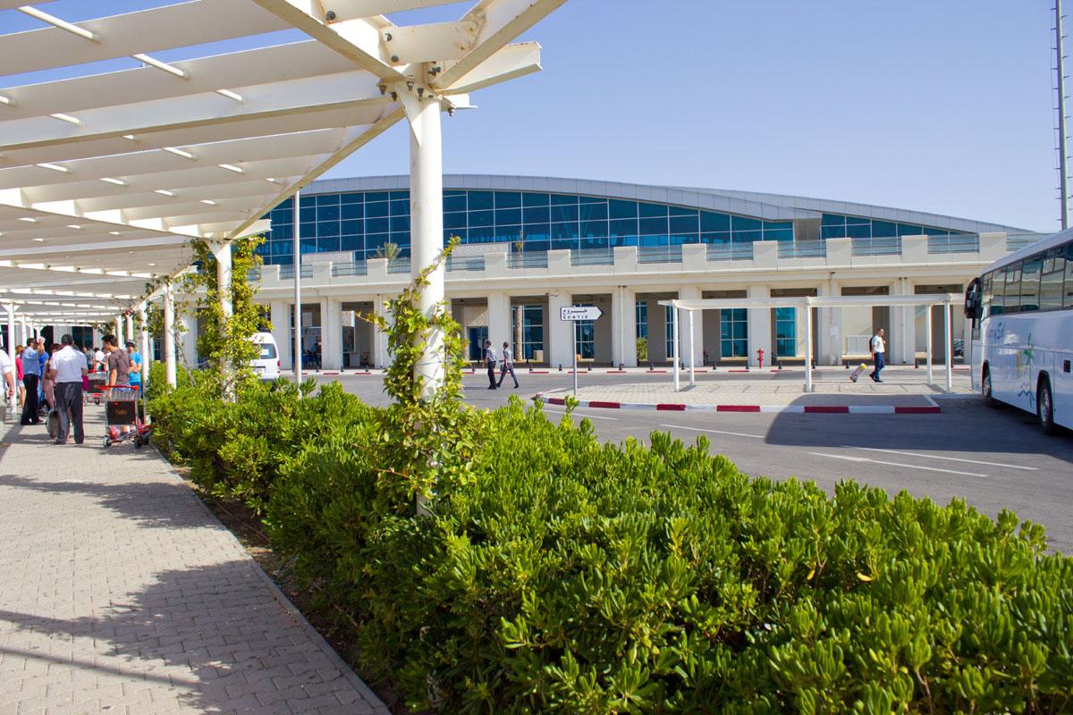 Фото аэропорта в Энфиде