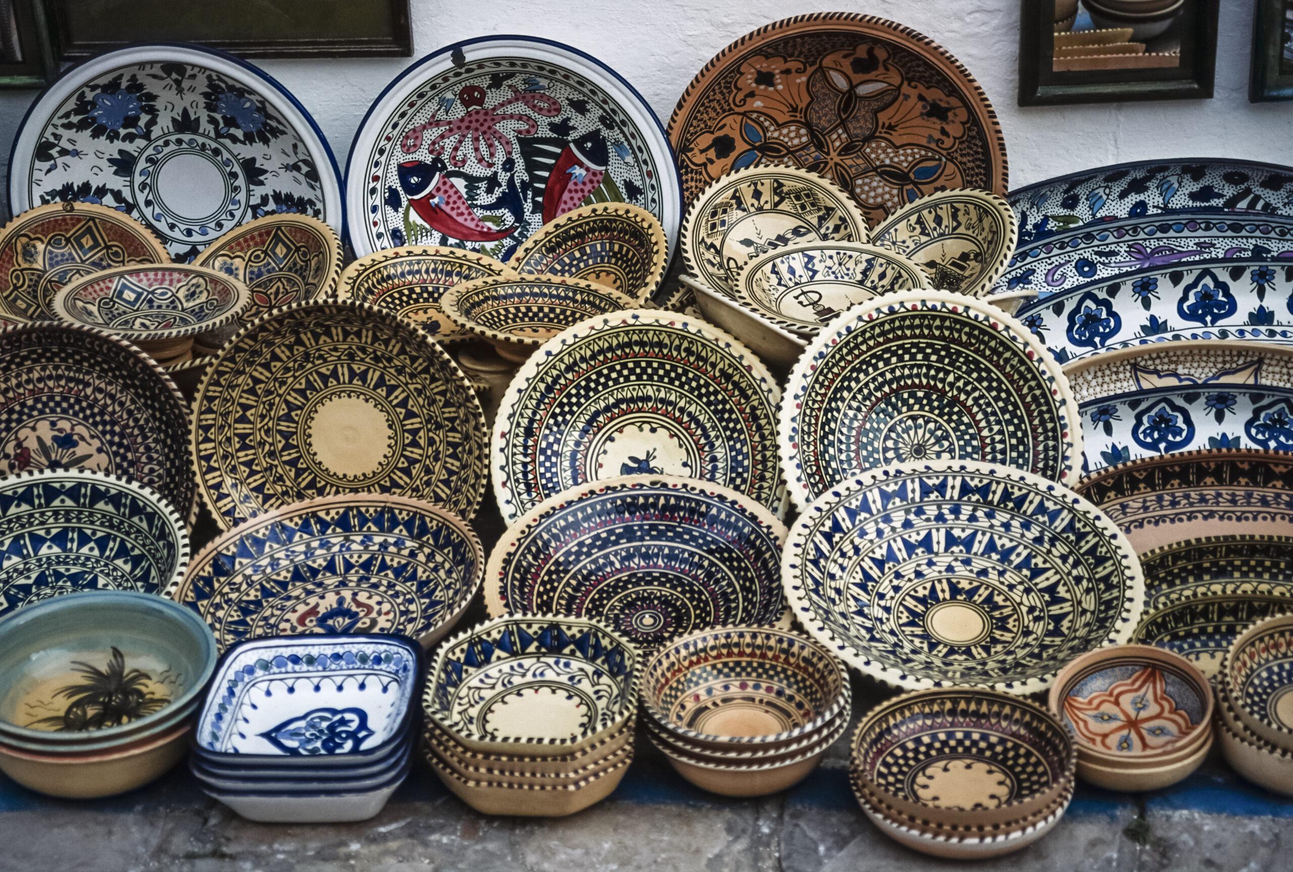 Фото посуды из керамики