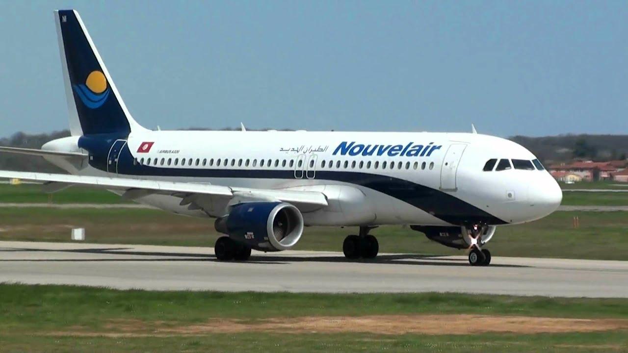 Фото самолета компании Нувелэйр Тунис