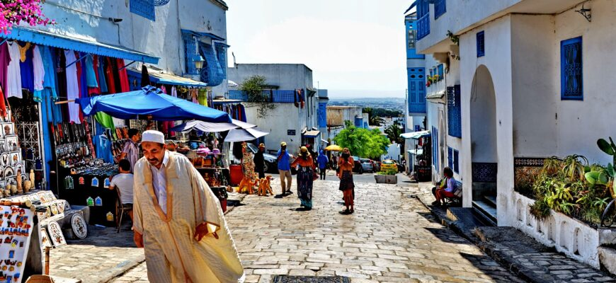улица в Тунисе